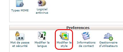 cPanel : style Rétro