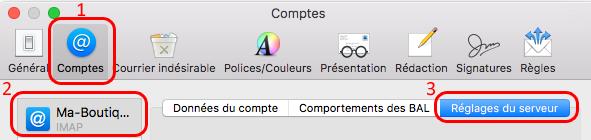 Créer un compte e-mail sous Mac OS X