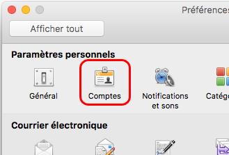 Créer un compte e-mail sous Microsoft Outlook 2011
